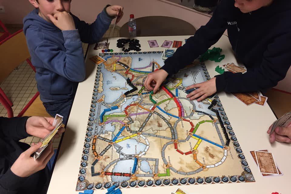 Activité jeux en famille