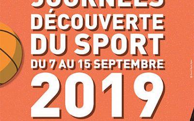 Journées Découverte du sport 2019