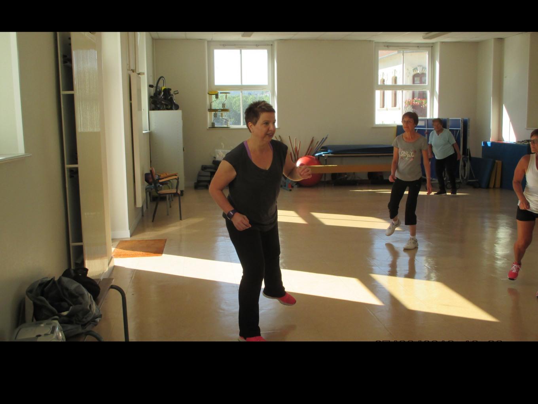 Exercices de gym séance mercredi matin Nathalie