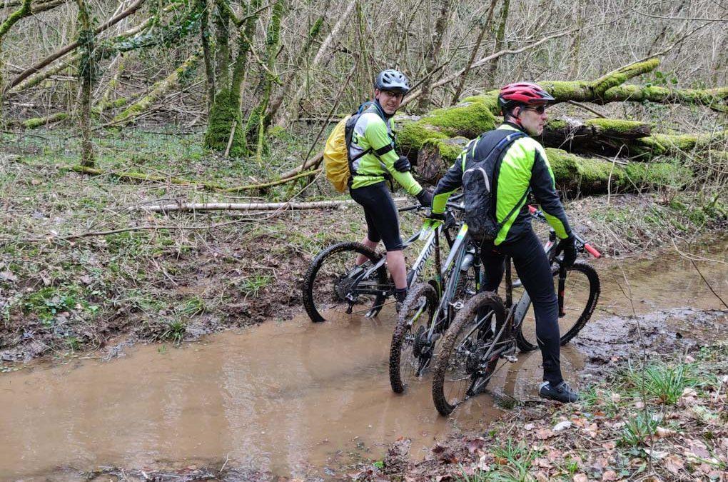 Section VTT: les roues dans l'eau